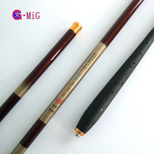 Wholesale prices Complimentary MiG New Ultra-light Superfine Telescopic fishing rod Tackle Carbon Fiber Hand Fishing Rod  Set