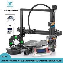 2017 New Tevo Tarantula 3D Printer DIY Kit reprap prusa I3 impresora 3d printer with 2 rolls 3d filament & Titan extruder free