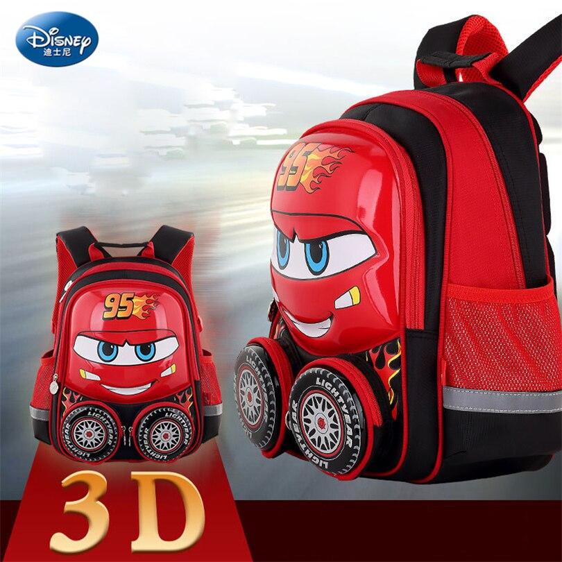 Disney 2018 Автомобили Дети рюкзак высокое качество школьная сумка для мальчиков девушки мультфильм школьный Ultralight дети портфель дошкольного