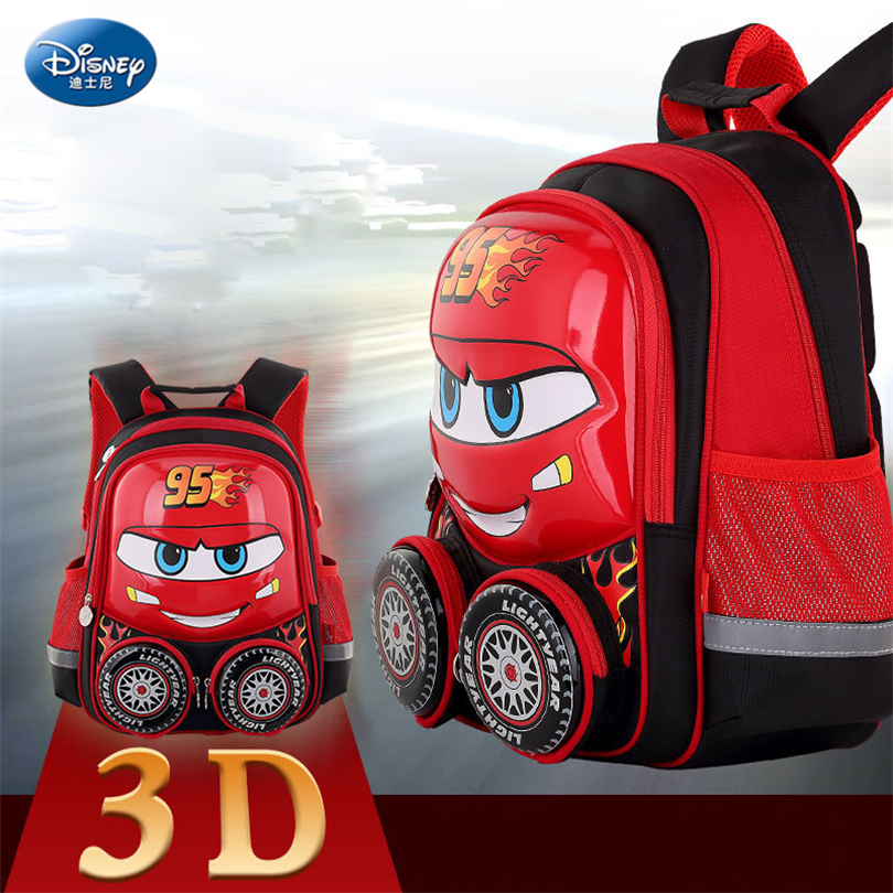 Disney 2018 Cars Children Backpack High Quality School Bag for Boys Girls  Cartoon Schoolbag Ultralight Kids 32714c10203ca