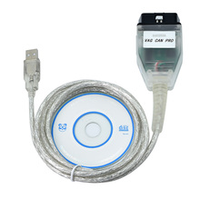 VAG PRO CAN BUS+UDS+K-line S.W Version 5.5.1 Diagnostic Cable VCP OBD2 Scanner with USB Dongle Better than ODIS
