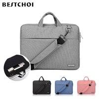 New Laptop Bag for Macbook Air 13 Pro 15 Retina 12 Laptop Shoulder Bags for Mac book Air 11 Women Men Messenger Laptop Case