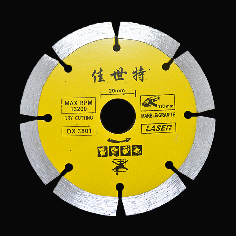 4.33'' Marble Stone Cutter Blades Angle Grinder Cutting Saws Stone Slice 110mm Diamond Blade