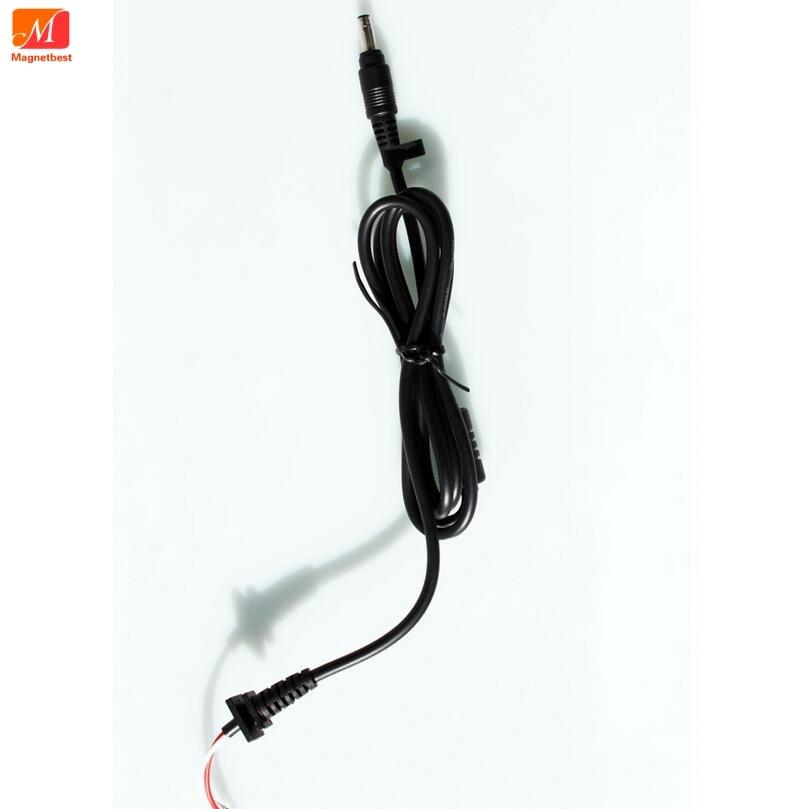 10 Unids/lote 4,74x1,7mm Bala Conector Dc Cable De Alimentación Para Hp Ac Adaptador Cargador Portátil Dc Conector 4,8 * 1,7mm Dc Cable Sabor AromáTico