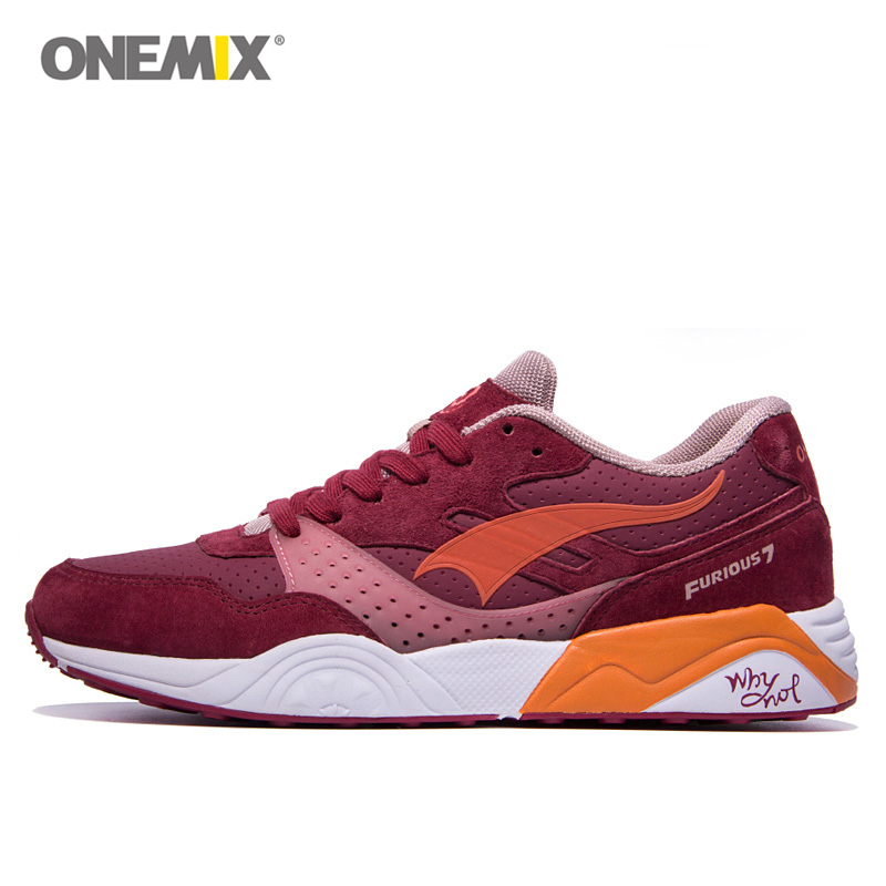 Onemix Mærke Original Sport Kvinder Løbesko Trainer For Woman Atletic Sneakers Retro Walking Runner Zapatillas Deportivas
