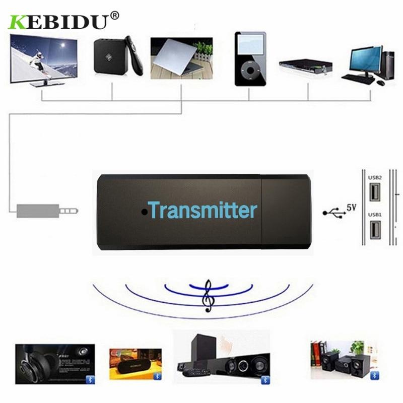 Funkadapter Tragbares Audio & Video Initiative Kebidu Kn316 Drahtlose Bluetooth Transmitter Audio Stereo 3,5mm Audio übertragung Usb Transmiter Adapter Aux Für Tv Pc Computer 100% Garantie