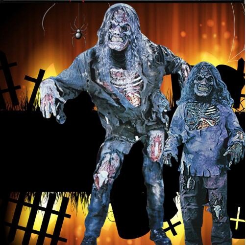 Костюм на Хэллоуин для взрослых демон дух костюм зомби комплект страшные костюмы ужасный вампир труп одежда для представлений