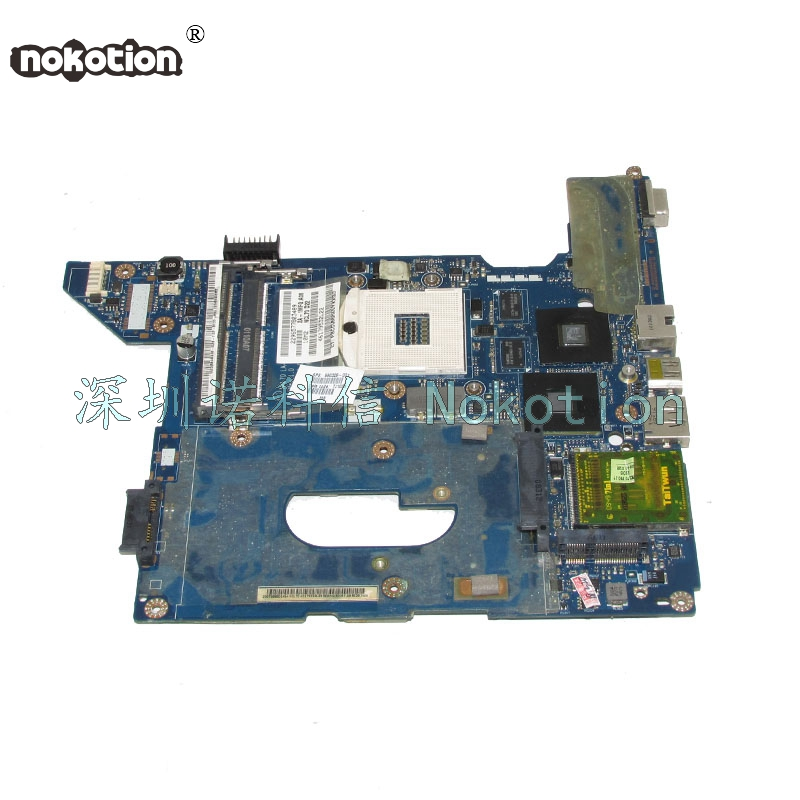 NOKOTION 590329-001 NAL70 LA-4107P For HP Compaq CQ41 Laptop motherboard HM55 ATI Mobility Radeon HD 4350 DDR3 nokotion 599518 001 laptop motherboard for hp compaq probook 4321s 4420s 4421s ati mobility radeon hd 5430 hm57 ddr3 mainboard