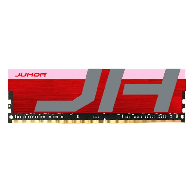 Mémoire rvb JUHOR radiateur brillant DDR4 8G 3000MHZ PC4-24000 mémoire RAM 288 broches; mémoire rvb radiateur brillant DDR4 8G 3000MHZ PC4-2