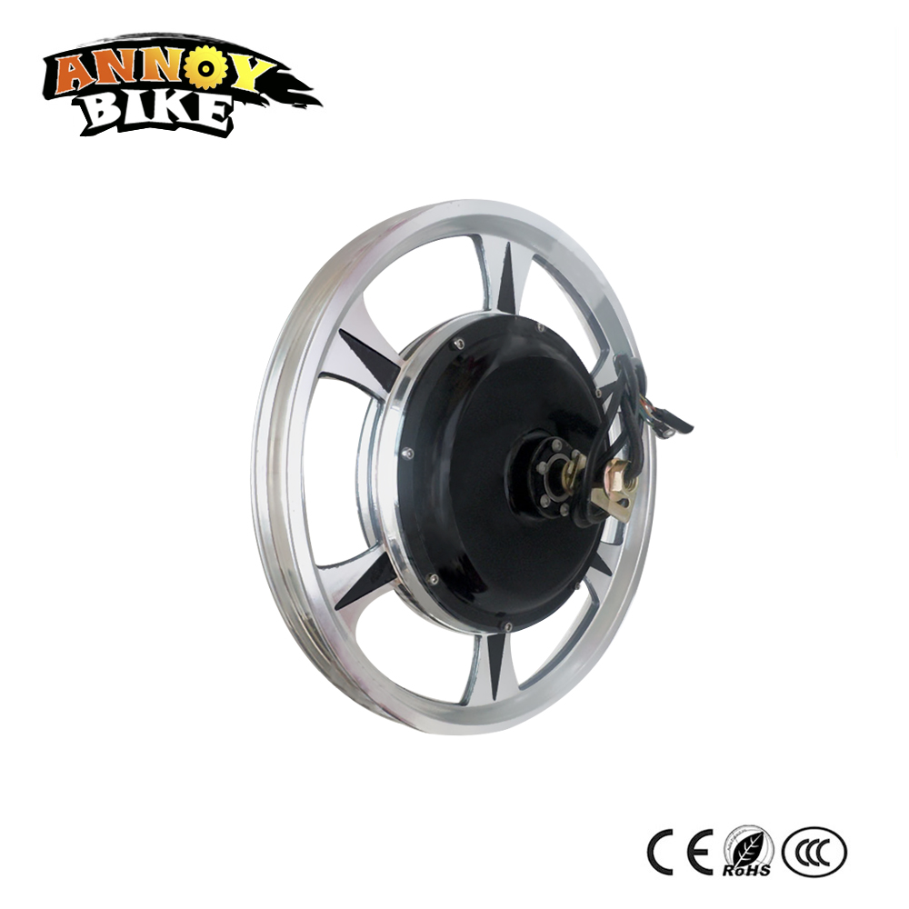 BLDC Electric Scooter Wheel 18 Rear Drive 36v 48v 60v 350w 500w 1000w  Disc brake Design For E Bike E scooter Mountain Bike citycoco e bike comfortable 1000w harley electric scooter