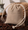 Linen Gift Pouch 7x9cm 9x12cm 10x15cm 13x17cm Pack of 50 Jute Storage Sack Birthday Wedding Party Candy Favor Bag