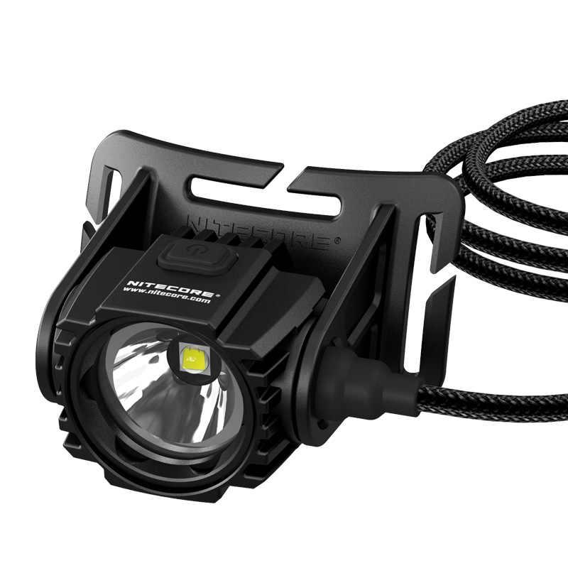 NITECORE HC70 Headlamp CREE XM-L2 U2 1000 lumens rechargeable headlight waterproof + 2pcs * 18650 LI-ion batteries