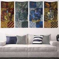 Harri Potter Флаг Колледжа баннер мальчики девочки дети подарок флаг для домашнего декора баннер 47*100 см