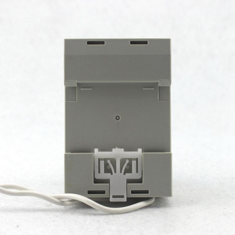 DIN RAIL digitální střídavý voltmetr ampérmetr AC80-300V 450V - Měřicí přístroje - Fotografie 4