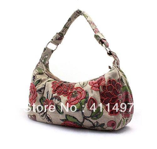 Aliexpress.com Comprar Femini bolsas chenson, envío libre venta al por mayor occidental bordado rebordear Tote bolsos de noche en ropa hechos a mano de