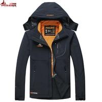 UNCO&BOROR new Casual Men's Waterproof Windproof autumn Winter Jacket Military Outwear men Tactical Soft Shell Jackets& coats