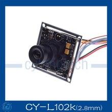 Sony CCD 700TVL CCTV Камера sony effio-е 4140 + 811 экранное меню 2,8 мм объектив безопасности Камера открытый с помощью. CY-L102K