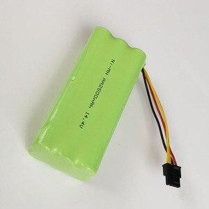 14.4 v ni-mh aa bateria recarregável 2500 mah para ecovacs deebot deepoo x600 zn605 zn606 zn609 midea redmond aspirador de pó