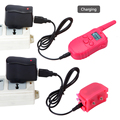 for 2 dog Pink 300 Meters Remote training collar with rechargeable and waterproof 1 for 2