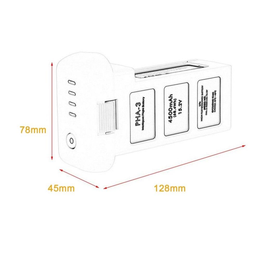 Batterie Drone pour DJI phantom 3 professionnel/3/Standard/avancé 15.2V 4500mAh LiPo 4S batterie intelligente jusqu'à 23 minutes - 6