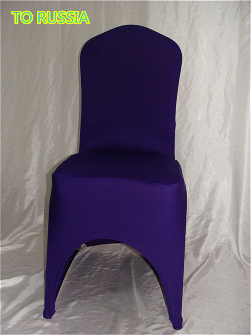 100pcs Eggplant 78 Normal Size Banquet Chair Covers For Sale To Russia  /stretch Chair Cover