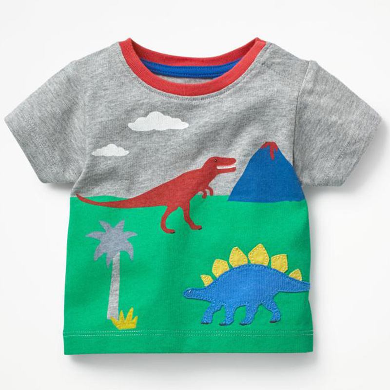 Boys T Shirt 100% Cotton Boys Short Sleeve Shirts for Children Clothing  Print Character Kids T-shirt Enfant Garcon Boys Clothes - us321 cf61aa73e04c
