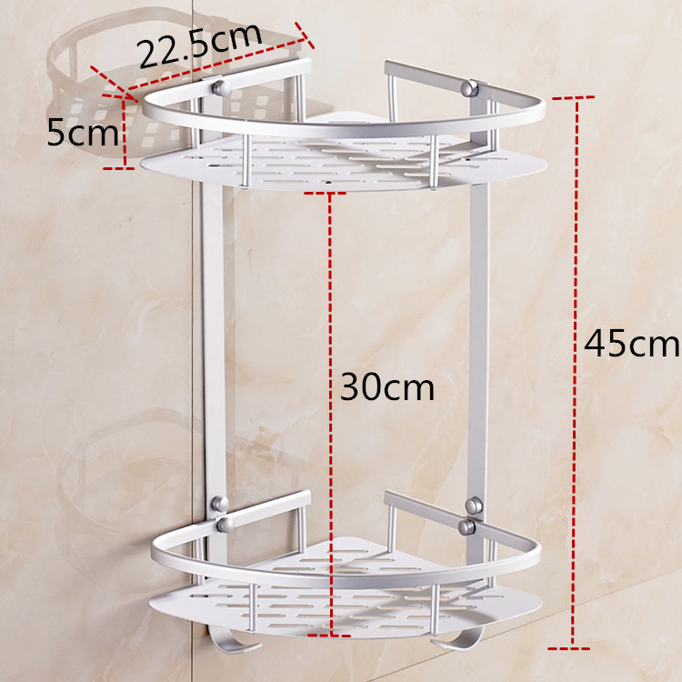 Aliexpress.com : Buy Dofaso bath hardware sets shower rack 2/3 ...