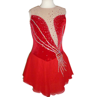 Customization Ice Skating Dress Competition Ice Skating Dress For Sale New Brand Figure Skating Competition Dress