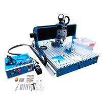 LY CNC 6090 1500W Trilho de Guia Linear do eixo 4 3 eixo eixos de madeira cnc router gravura em metal máquina de perfuração|Roteadores de madeira| |  -