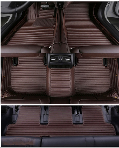 High quality! Custom car floor mats for Nissan Patrol Y62 7 seats 2019 waterproof car carpets for Patrol 2018 2011,Free shipping
