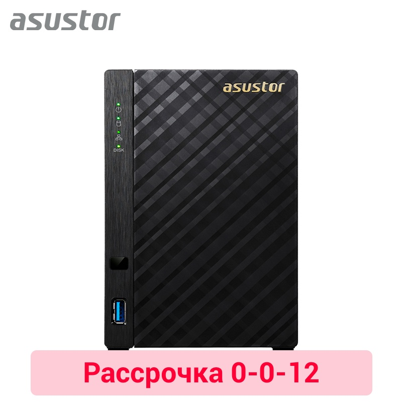 Network attached storage Asustor AS3102T 0-0-12 network attached storage asustor as3102t 0 0 12