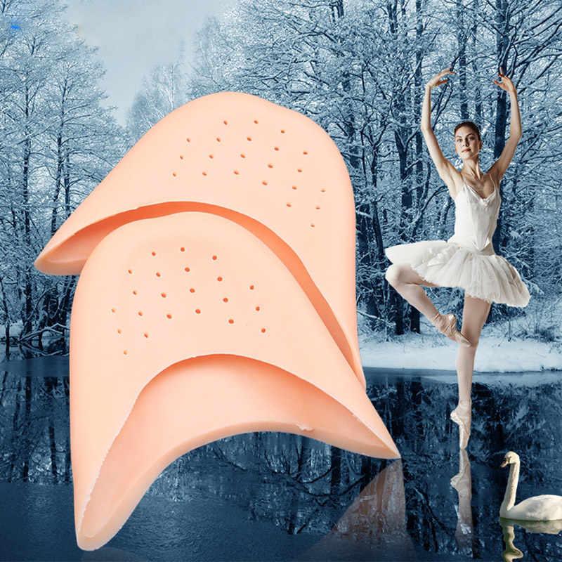 1 paio Traspirante Gel di Silicone Toe Balletto di Danza Solette Scarpe di Cura di Piede Protezioni TK-ing