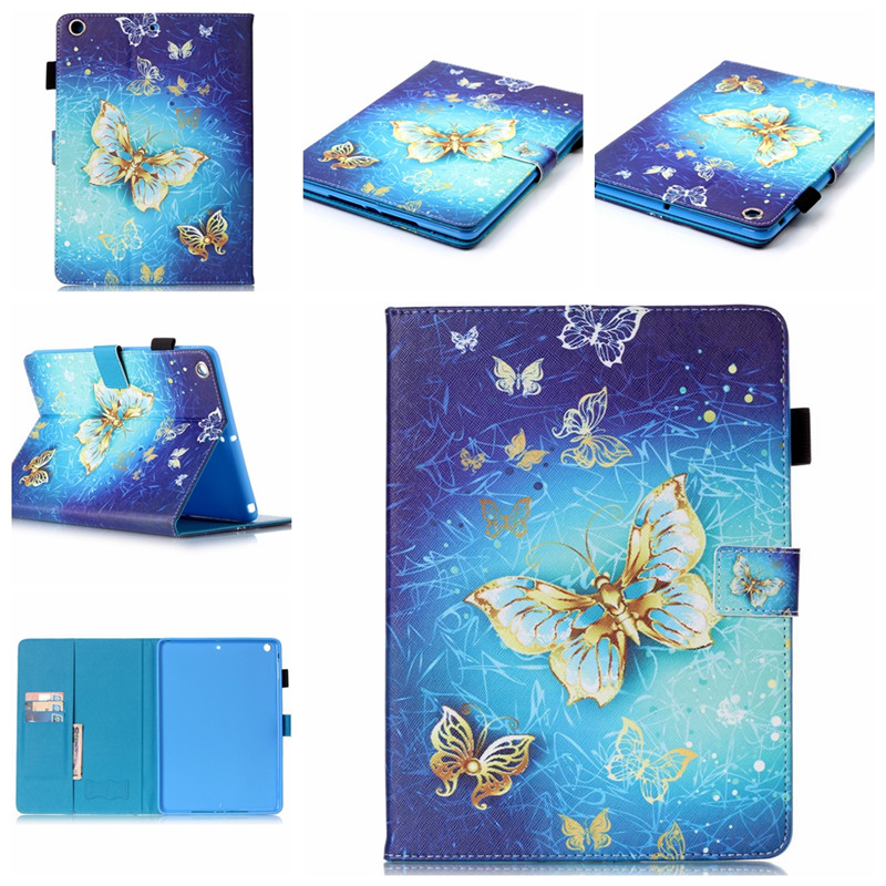 For ipad air 2 ipad 6 cases Print pattern Leather stand Flip