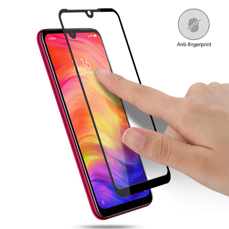 For Xiaomi Redmi Note 7 Tempered Glass Full Screen Protection Cover For Redmi Note 7 Pro Protective Glass Film Screen Protector