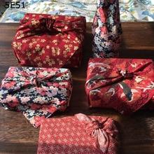Японский стиль обертывание ткань платок фуросики/Япония Классическая традиционная печать/много использования