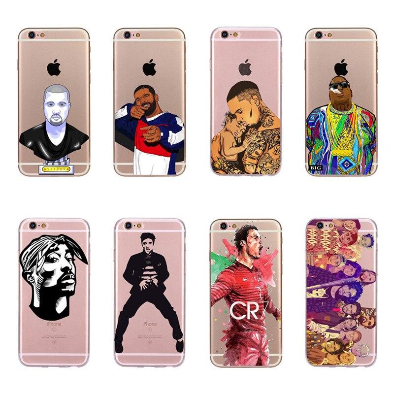 2pac Tupac And Biggie For Xiaomi Note 3 4 Mi3 Mi4 Mi4c Mi4i Mi5 Mi 5s 5x 6 6x 8 Se A1 Max Mix 2 Coque Shell Phone Case Half-wrapped Case