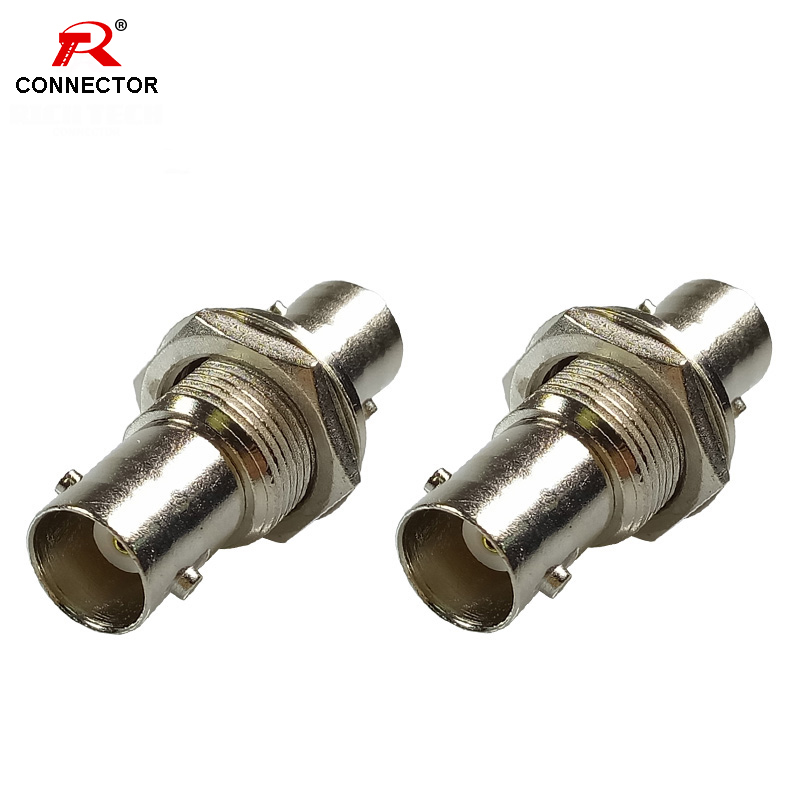 1pc BNC Chassis Panel Mount Connector BNC Female to BNC Female Panel Adaptor1pc BNC Chassis Panel Mount Connector BNC Female to BNC Female Panel Adaptor
