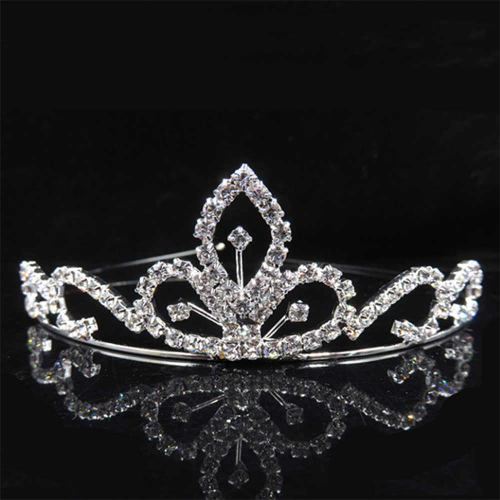 ... AINAMEISI Princess Crystal Tiaras and Crowns Headband Kid Girls Love  Bridal Prom Crown Wedding Party Accessiories ... 2c1299a6e790