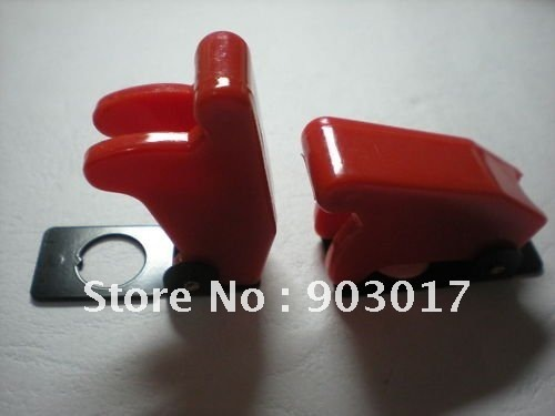 Safety Flip Cover for Toggle Switch  Multicolor (red ,yellow,green,blue,black) Opacity 3 Pcs Per Lot HOT Sale