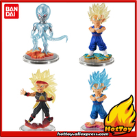 Original BANDAI Tamashii Nations Ultimate Grade / UG 05 Gashapon PVC Toy Figure Full Set of 4 Pieces from Dragon Ball Super