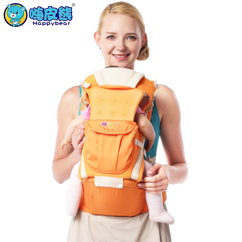 Happy Bear New 0-48 Months 20KG Breathable Multifunctional Ergonomic Baby Carrier Infant Comfortable Sling Backpack jumpsuit gina bacconi jumpsuit