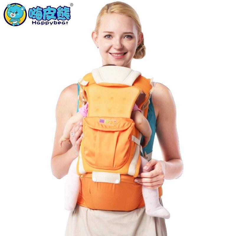 Happy Bear New 0-48 Months 20KG Breathable Multifunctional Ergonomic Baby Carrier Infant Comfortable Sling Backpack платье mango платье