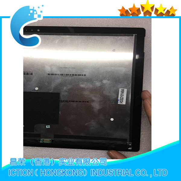 Image 2 - Original 1631 Full LCD Assembly Pro 3 For Microsoft Surface Pro 3 (1631) lcd display touch screen digitizer Assembly-in Tablet LCDs & Panels from Computer & Office