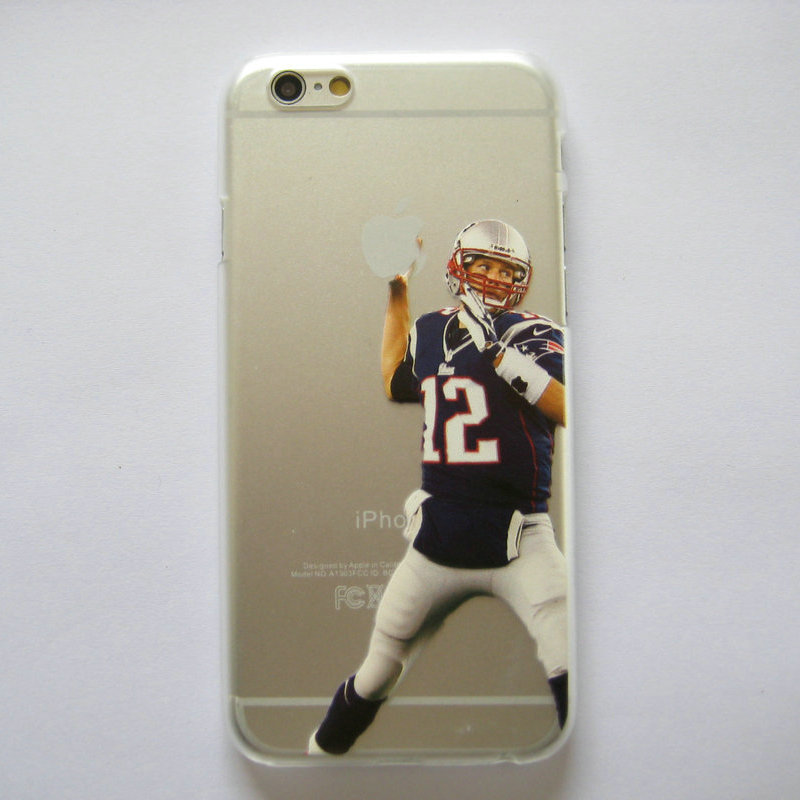 Clear Case for iphone 6 6s American Football Watt Gronkowski Odell beckham jr printed Phone Cover for iphone 6 4.7''