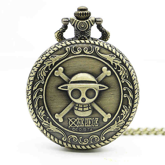 Wholesale Necklace Watch Vintage Style Bronze Steampunk Lovely Queen Head Pocket Watch For Xmas Gift