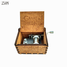 Game of Thrones Hand Engraved Wooden Music Box theme song gift for Chirstmas happy birthday gift new year gift children gift