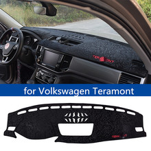 FOR Volkswagen Teramont car sun protection mat interior accessories dashboard center console shading