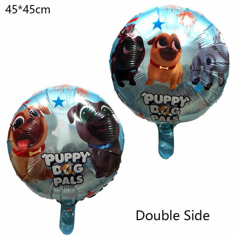 1 ピース子犬犬仲間ホイルバルーン誕生日パーティーの装飾兄弟ビンゴと Rolly グロボスのおもちゃバルーン