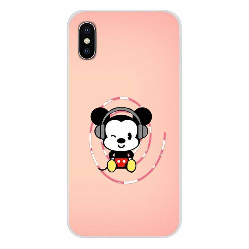 Для Xiaomi Mi6 A1 5X 6X Redmi Note 5 5A 4X 4A 4 3 Plus Pro pocophone F1 модный Микки Маус аксессуары для телефона чехлы