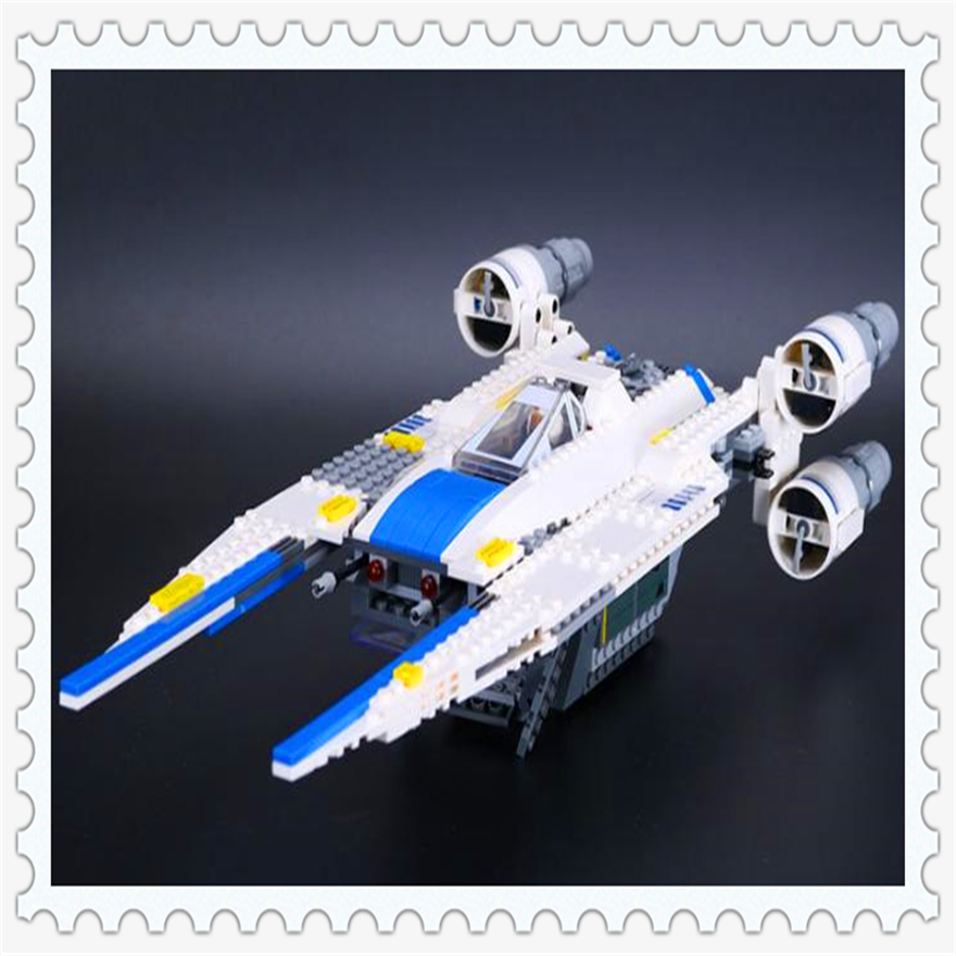 679Pcs Rebel U Wing Fighter Jets Model Building Block Toys LEPIN 05054 Figure Gift For Children Compatible Legoe 75155 new lepin 16008 cinderella princess castle city model building block kid educational toys for children gift compatible 71040